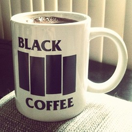 black flag - black coffee mag