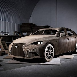 Lexus - Origami Inspired Car, Lexus IS