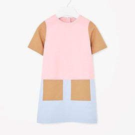 COS - Block-colour cotton dress