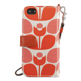Orla Kiely - iPhone 5 and iPhone 5s Case Wallet - HeroImage