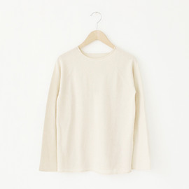 F/style - Cotton Crew Knit / Natural