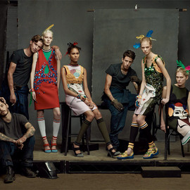 Vogue Italia January 2014 - The Collections by Steven Meisel