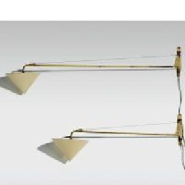 Jean Prouve - Potence Wall Lamps