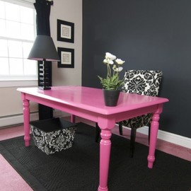 DIY - black and pink