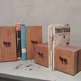 COW BOOKS - Book Ends