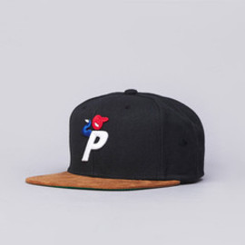 PALACE Skateboards - Bunning Man Snapback Cap Black / Tan