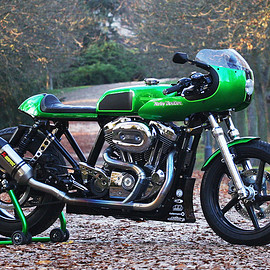 HARLEY-DAVIDSON - Sportster cafe racer from the Czech Republic