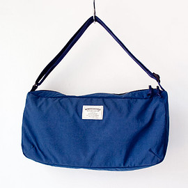 WONDER BAGGAGE - WONDER BAGGAGE / Relax shoulder : blue × navy