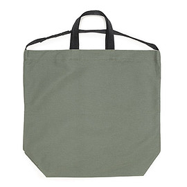 ENGINEERED GARMENTS - Carry All Tote W/Strap-Cotton Double Cloth-Olive