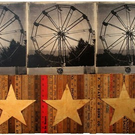 Mikel Robinson - TRIPLE WHEEL WITH STARS  2011