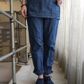 ASEEDONCLOUD - apron trousers Denim