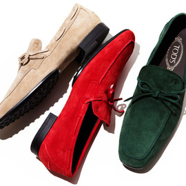 TOD'S - Race-Up Moccasin