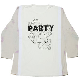 NADA. - Re-Size Party L/S Tee / col_wht