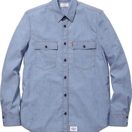Supreme × Levi's - Lightweight Chambray Work Shirt