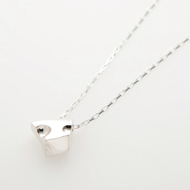 Q-pot. - Cheese Necklace M Silver