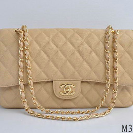 CHANEL - Beige Shoulder Bag