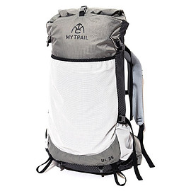 MY TRAIL CO - BACK PACK UL 35L BLACK/GREY  SIZE