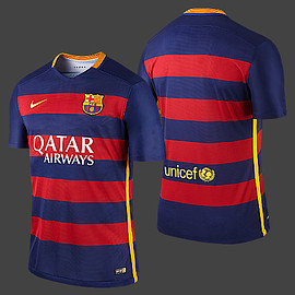 NIKE - FC Barcelona Game Shirt Home 15-16