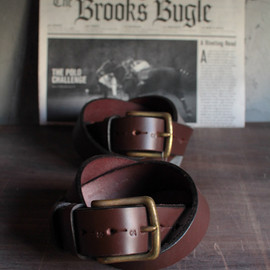 JABEZ CLIFF - 1/2 LEATHER BELT