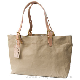 Workers - Tote Bag, Leather Handle