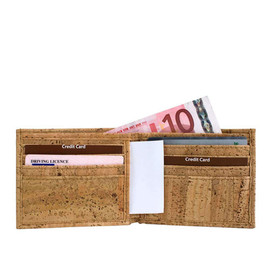 Corkor - Cork Wallet for Men Card Holder Brown - Gift Ideas for Him by Corkor - Vegan Dad's Gift