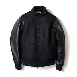 HEAD PORTER PLUS - VARSITY JACKET BLACK
