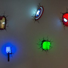 Marvel - Avenger 3D Nightlight