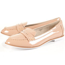TOPSHOP/TOPMAN - MANOR Scalloped Edge Loafers