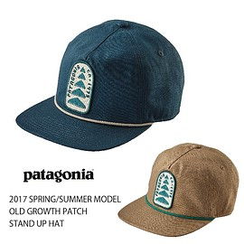 Patagonia - OLD-GROWTH-PATCH STAND UP CAP 2017SPRING/SUMMER MODEL