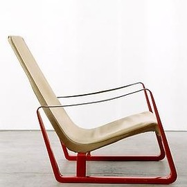Jean Prouve - Red Cite Armchair