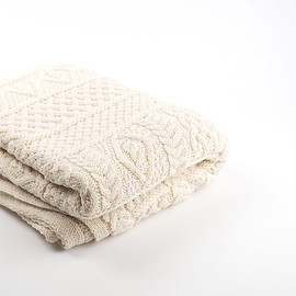 linoo - wool knit blanket