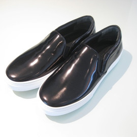 CELINE - CELINE BLUSHED CALF SKIN SLIP ON SHOES