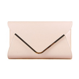 alanatt - Envelope Shape Clutch Leather Bags