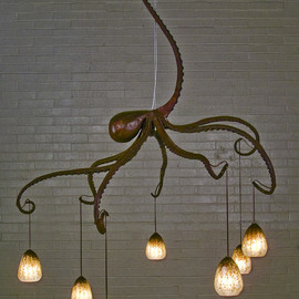 Daniel Hopper Design - octopus chandelier