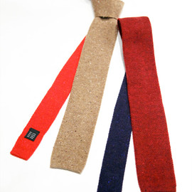 ANACHRONORM - Donegal Wool Knit Tie