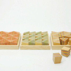 PLYWOOD LAB. - Paper-Wood BLOCK 15°