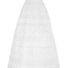 DOLCE&GABBANA - Lace-appliquéd embroidered tulle gown