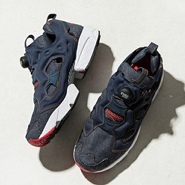 Reebok, ZOZOTOWN - Instapump Fury - Dark Navy/Red/White