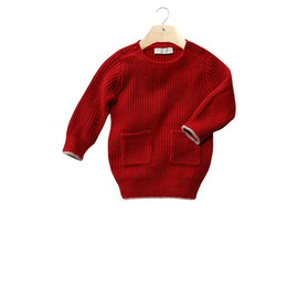 STELLA McCARTNEY KIDS - Kelly: baby dress, fisherman's rib, long sleeves