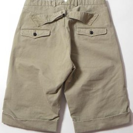 GARMENT REPRODUCTION OF WORKERS - GARMENT REPRODUCTION OF WORKERS(ガーメント・リプロダクション・オブ・ワーカーズ) FARMERS SHORTS DR12-SHORTS