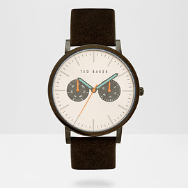 Ted Baker - PEENA Multi dial leather strap watch