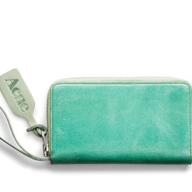 ACNE - Agate Waxed Sea Green