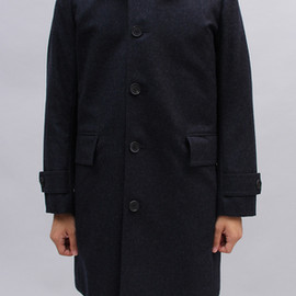 Honor gathering - EXTRA WOOL CHAMBRAY COAT