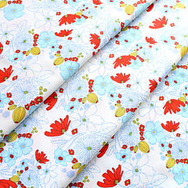 Art Gallery Fabrics - Meadow Lea's Bloom Clearwater