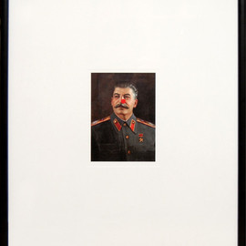Damien Hirst - Red Nose Stalin