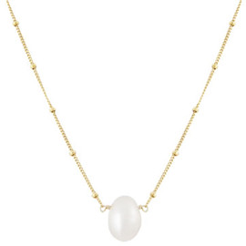 Satya Scainetti & Beth Torstrick - Single Pearl Nugget Necklace,Gold