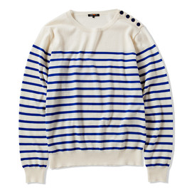 CASH CA - STRIPED MATELOT SWEATER