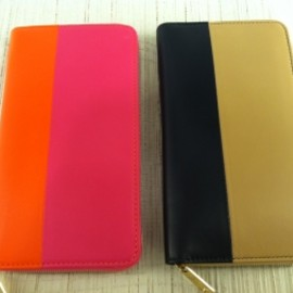 CELINE - WALLET bi-color pnk/org