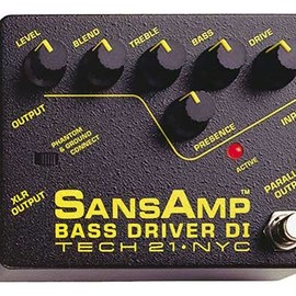 TECH21 SansAmp - BASS DRIVER DI