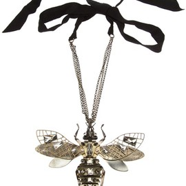 LANVIN - Embellished Insect Necklace